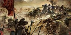 Charge of Ma Chao's cavalry, War of the Three Kingdoms