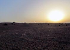 Sonnenuntergang in der Wüste - Vereinigte Arabische Emirate