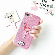 Brand Name: haobuy. Retail Package: Yes Type: Fitted Case Function: Dirt-resistant,Anti-knock Compatible Brand: Apple iPhones Compatible iPhone Model: iPhone 6,iPhone 6 Plus,iPhone 6s,iPhone 6s plus,iPhone 7,iPhone 7 Plus,iPhone 8 Plus,iPhone 8,iPhone X Design: Matte,Patterned,Animal,Cute Size: 4.7/5.5 inch Features: phone case Feature 1: Flamingo Case For iPhone 6 6S 7 Plus 8 Plus Cover Feature 2: Glitter Powder Bling Phone Cover For iPhone 7 Plus Feature 3: Luxury Embroidery Case Cover For…