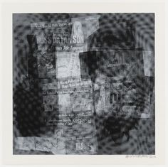 "Robert Rauschenberg. Surface Series from Currents. 1970. Portfolio of 18 screenprints. composition (each): 35 1/16 x 35 1/16"" (89 x 89 cm); sheet (each): 40 x 40"" (101.6 x 101.6 cm). Gift of the artist. 307.2008.1-18. © 2016 Robert Rauschenberg Foundation. Portfolio. Drawings and Prints"