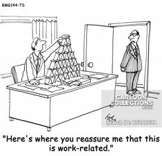 """""""Here's where you reassure me that this is work-related. Business Cartoons, The Originals, Artist, Collection, Home Decor, Decoration Home, Room Decor, Artists, Home Interior Design"""