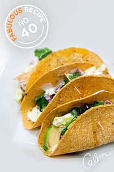 Grilled fish tacos: colorful tacos are a fantastic way to ring in the spring season.