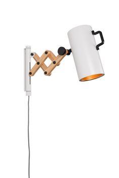 Flex wall lamp White