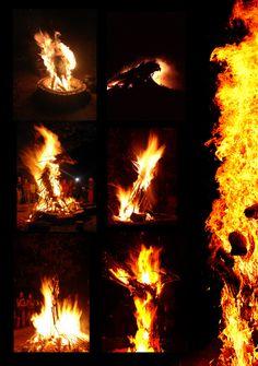 Fire Sculpture by Simon Max Bannister, via Behance