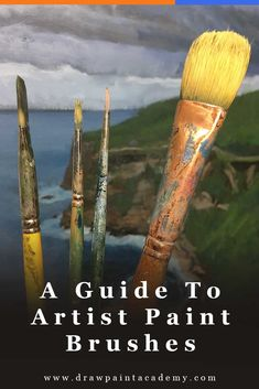 The ultimate guide to artist paint brushes. Oil painting for beginners | oil painting supplies | art tips.  via @drawpaintacadem
