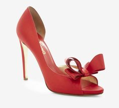 Guvon loves this Red Peeptoe