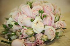 Gorgeous pink rose bouquet