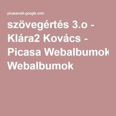 szövegértés 3.o - Klára2 Kovács - Picasa Webalbumok Special Needs, Tarot, Education, School, Albums, Retro, Picasa, Onderwijs, Retro Illustration