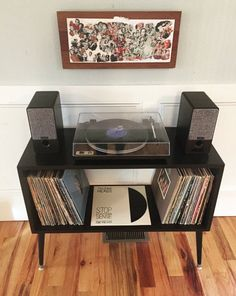 Record Table, Record Player Console, Retro Record Player, Record Cabinet, Console Table, Turntable Setup, Vinyl Record Storage, Vinyl Record Stand, Mid Century Console