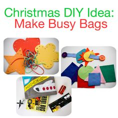 Modern Parents Messy Kids: Christmas Gift Idea: Busy Bags (Great for Advent, Stockings, or Under the Tree)