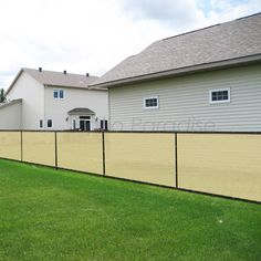 Patio Paradise x Tan Beige Fence Privacy Screen, Commercial Outdoor Backyard Shade Windscreen Mesh Fabric with Brass Gromment Blockage- 3 Years Warranty (Customized Backyard Shade, Rental Property, Mesh Fabric, 3 Years, Outdoor Gardens, Fence, Paradise, Commercial, Brass