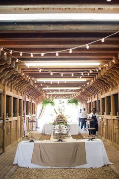 Farm & Barn Style Wedding