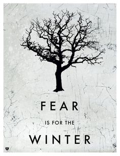 Eleanor - This postcard is called Fear id for the Winter, as the feeling of the background and the tree figure, they all give us the emotions of sad, die, cold and hopeless. For the design of this postcard, the simple pattern and words in the middle is not creative, but it connects to the topic and makes people understand quickly.