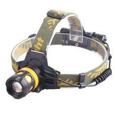 New Cree XML-T6 Led HeadLight XPE Outdoor HeadLamp Lampe Frontale Puissante Headlights For Camping Biking 3AAA or 18650 Battery