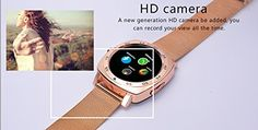 All-in-1 Smart Watch Round IPS Screen Bluetooth 4.0 call phone smartwatches with sim card removable Metar band Camera Pedometer Activity Tracker For iphone IOS Samsung LG Android Phones man (Gold) 39.90  #【WhatYouGet】:3-yearsworry-freeproductguaranteewhichensurelong-lastingenjoymentofyoursmartwatch....