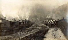 Coal Camp Living--Raven Red Ash Coal Co, Tazewell Co, VA--COMCWV-TEK