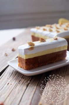Gâteau au citron meringué Flan, Sweet Recipes, Keto Recipes, Lemon Meringue Cake, Crazy Cakes, Fruit Tart, Small Cake, Mini Cakes, Sweet Tooth