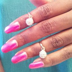 CRYSTAL BALL... Purchase these midi rings online at www.fabfrosting.com. #putaringonit