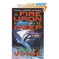 """""""In this Hugo-winning 1991 SF novel, Vernor Vinge gives us a wild new cosmology, a galaxy-spanning """"Net of a Million Lies,"""" some finely imagined aliens, and much nail-biting suspense."""""""