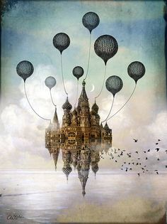 """""""Journey to the East"""" Graphic/Illustration by Catrin Welz-Stein posters, art prints, canvas prints, greeting cards or gallery prints. Find more Graphic/Illustration art prints and posters in the AR. Art And Illustration, Fantasy Kunst, Fantasy Art, Art Macabre, Art Mural, Wall Art, Art Du Monde, Art Design, Graphic Design"""