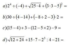 ejercicios combinados con potencia y raíz - Buscar con Google Math Equations, Maths, Cami, Angel, Google, Flower, Preschool Math Activities, Multiplication Tables, Fractions