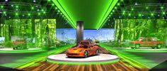 Chevrolet's Detroit Auto Show Display