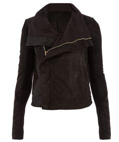 This Rick Owens jacket will be one of your most loved pieces in your wardrobe. #londonfashionweek #LFW #wardrobestaple