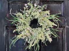 Spring Wreath  Easter Floral Wreath  Birch Wreath by Designawreath, $79.95