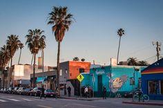 Abbot Kinney Boulevard Venice Beach Los Angeles