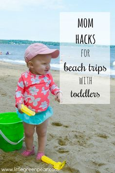 Day Mom Hacks for Toddlers Mom Hacks For Beach Trips With Toddlers! Don't get stuck at the beach with nothing for your toddler to do.Mom Hacks For Beach Trips With Toddlers! Don't get stuck at the beach with nothing for your toddler to do. Toddler Beach, Toddler Travel, Beach Kids, Beach Fun, Beach Trip, Travel With Kids, Baby Beach, Beach Babies, Beach Gear