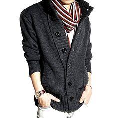 Partiss Mens Cool Sweater Outerwear,Large,Dark gray Partiss http://www.amazon.com/dp/B00PDR0UG4/ref=cm_sw_r_pi_dp_muL5ub1XN12DS