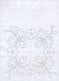 Facilissimo Patchwork Nº 07 - Applique Quilt Patterns, Applique Templates, Applique Designs, Quilting Designs, Wool Quilts, Barn Quilts, Mini Quilts, Folk Embroidery, Hand Embroidery Patterns