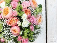 Květinový ateliér V Ráji: Svatební kytice s pivoňkovými růžemi