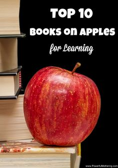 My kids LOVE apples! Take a look at this awesome top 10 of apple books and then browse on below for more apple and fall ideas!