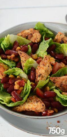Mexican chicken salad Mexican chicken salad Check more at audrey. Beet Salad Recipes, Salad Recipes For Dinner, Dinner Salads, Chicken Salad Recipes, Meat Recipes, Mexican Food Recipes, Healthy Recipes, Salad Chicken, Dinner Healthy