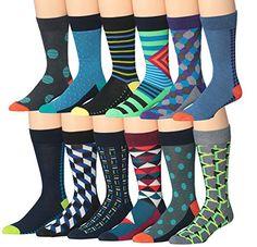 James FialloMen's 12 Pairs Colorful Patterned Dress Sock... https://www.amazon.com/dp/B01CTMAM04/ref=cm_sw_r_pi_dp_npzFxb1BS869W