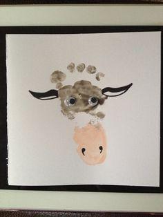 Moo cow card :) footprint