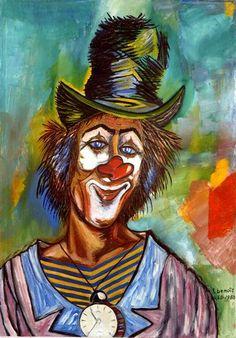 Title:    Clown    Artist:    Francois Benoit