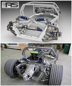 """""""Here is an intense one for the entire team at @roadstershop . Twin turbo 351 Windsor 1500+ HP mid engine monocoque style perimeter chassis for a De…"""""""