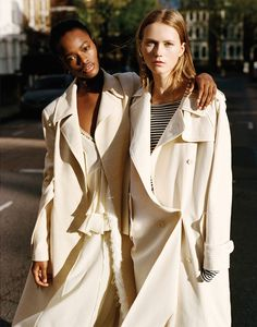 two for the road: mayowa nicholas and julie hoomans by matteo montanari for wsj january 2016   visual optimism; fashion editorials, shows, campaigns & more!