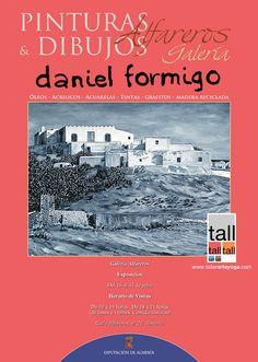 Cartel publicitario para exposición 2013 en la Galería Alfareros de la Diputación de Almería.