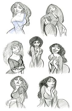 Mother Gothel Concept Art  http://images3.wikia.nocookie.net/__cb20101119162916/disney/images/3/35/Mother_Gothel_concept_art.jpg#