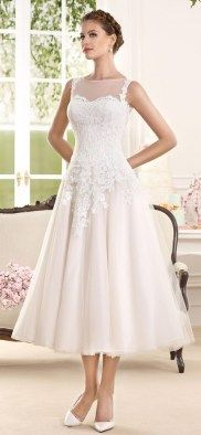Short wedding dresses collections 29