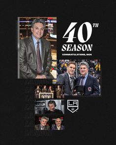"LA Kings on Instagram: ""Tonight Nick Nickson begins his 40th season with the LA Kings 👏 Listen on @iheartradio 👉 LAKings.com/iHeartRadio"" King, Seasons, Movies, Movie Posters, Instagram, Film Poster, Seasons Of The Year, Films, Popcorn Posters"