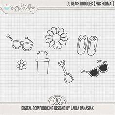 CU Beach Doodles
