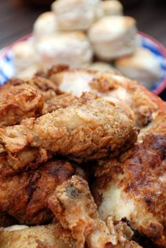 Southern Fried Chicken with Gravy (Baked in the oven!)