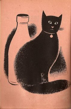 'cat o' nine lives' by daisy eckersley illustrated by tom eckersley, 1946
