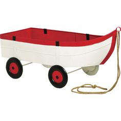 Take your nautical décor to a whole new level with this adorable and stylish row boat. This planter is shaped like a row boat and has 4 wheels and a rope. Wheelbarrow Planter, Evergreen Flags, Evergreen Enterprises, Vintage Boats, Play Yard, Boat Painting, Tug Boats, Outdoor Life, Outdoor Living