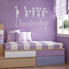 """I LOVE Cheerleading"".                     ADORABLE!"