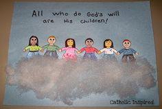 rosary bulletin board printable - Google Search